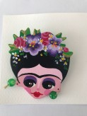 Women brooch handmade