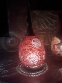 Deckenleuchte Fisch- Kürbislampe