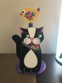 Küchenpaierhalter Katze
